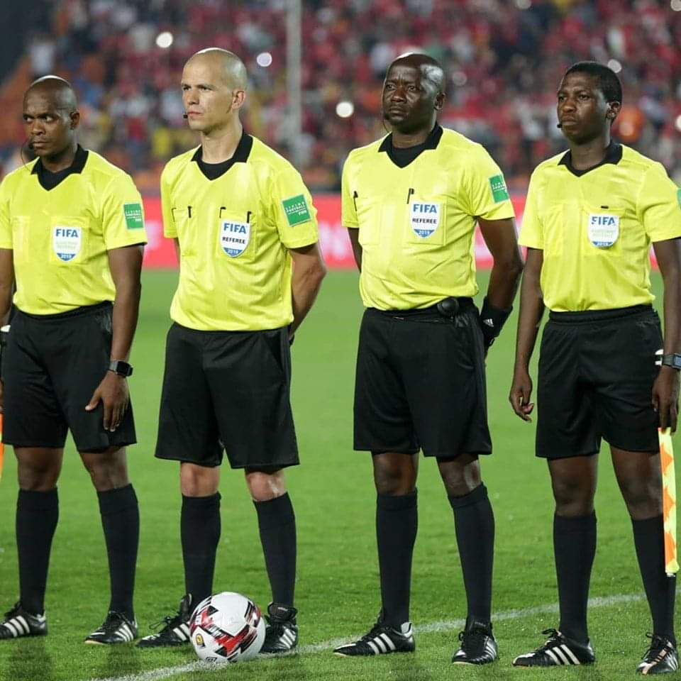 Local referee in top CAF course